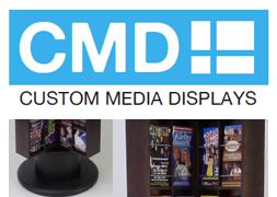 Custom Media Displays for Brouchure & Flyers